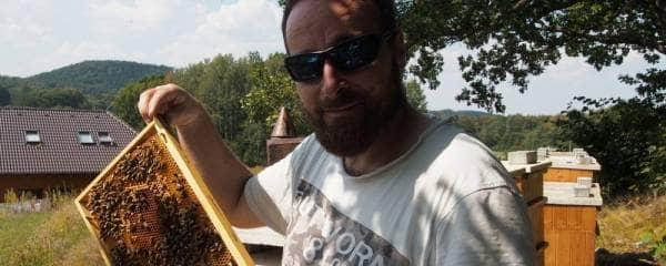 Ing. Josef Pazourek - včelař