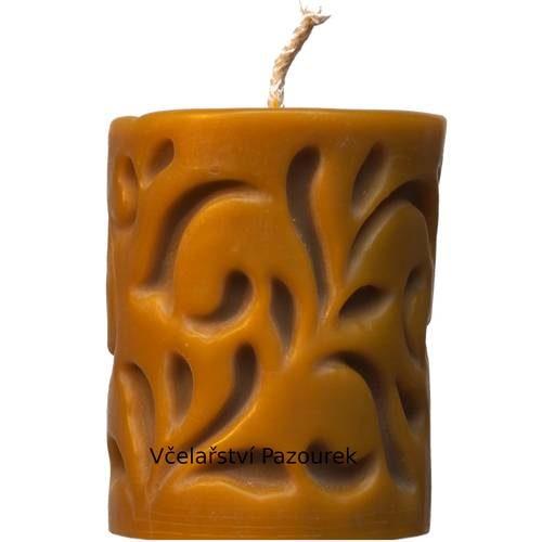 Svíčka ornament vlys