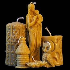 Jak vyrábíme svíčky z včelího vosku